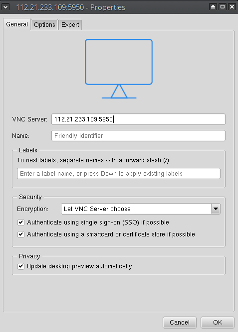 VNC - VMmanager 5 KVM Documentation